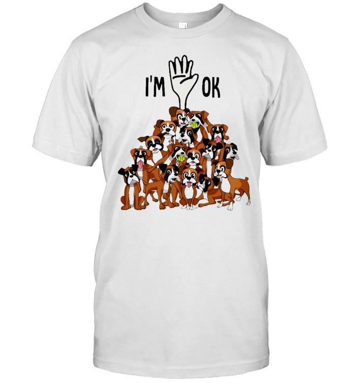 Full of boxers im ok for boxer lover shirt Classic Men's T-shirt