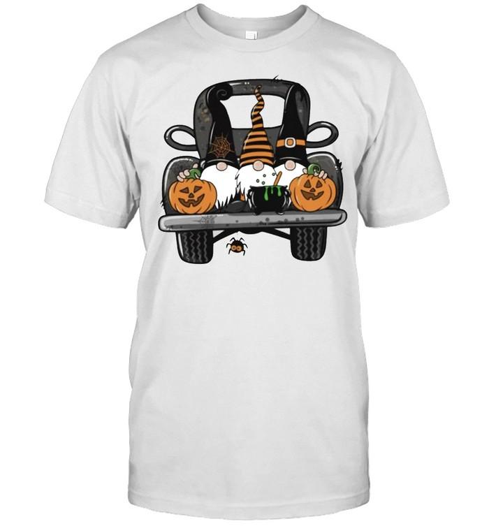 Halloween Gnomes truck shirt Classic Men's T-shirt