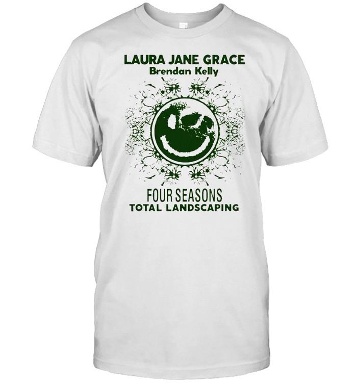 Laura Jane Grace Brendan Kelly four seasons total landscaping shirt Classic Men's T-shirt