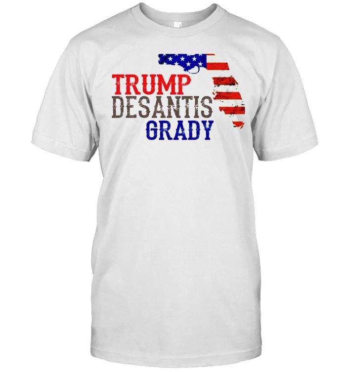 Trump Desantis Grady Florida shirt Classic Men's T-shirt