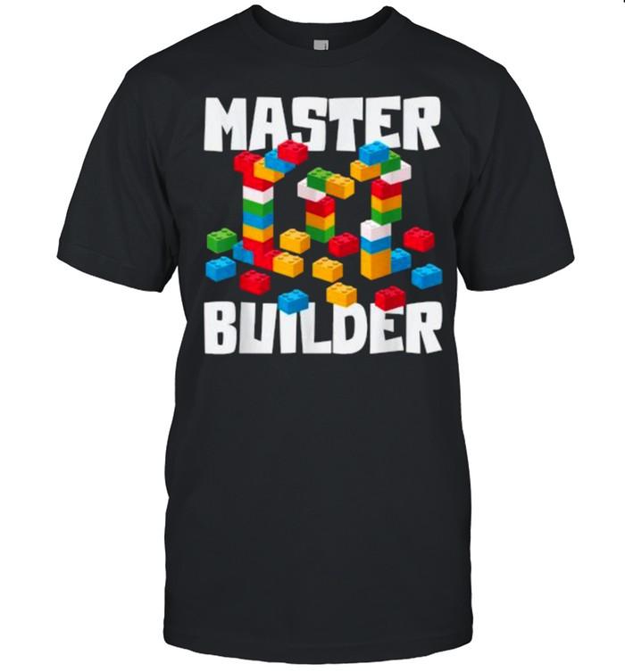 MASTER BUILDER Building Blocks Toys T- Classic Men's T-shirt