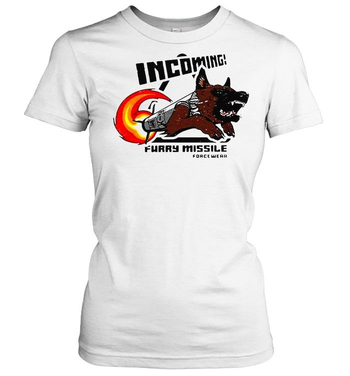 Incoming Furry Missile Force Wear T-shirt Classic Women's T-shirt