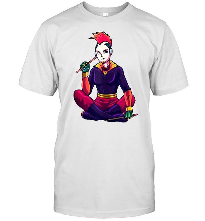 Japanese Cyberpunk cosplayer Cyberpunk T-shirt Classic Men's T-shirt