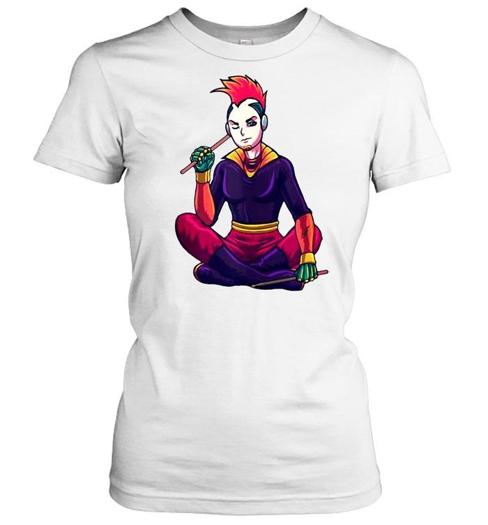 Japanese Cyberpunk cosplayer Cyberpunk T-shirt Classic Women's T-shirt