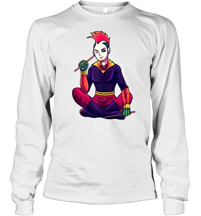 Japanese Cyberpunk cosplayer Cyberpunk T-shirt Long Sleeved T-shirt