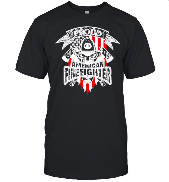 Proud American fighter shirt Classic Men's T-shirt