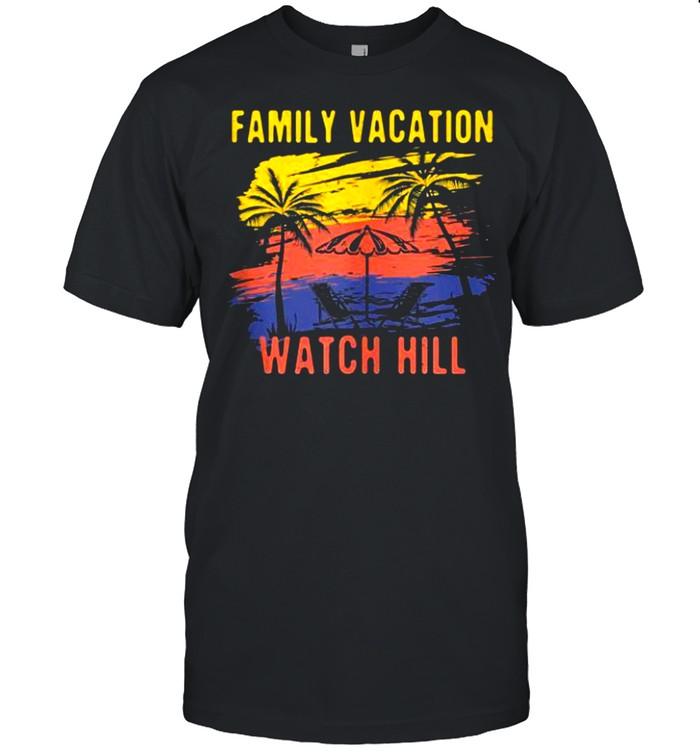 Family Vacation Watch Hill Holiday Rhode Island Festival shirt Classic Men's T-shirt