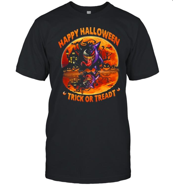 Gengar Happy Halloween Trick or Treadt shirt Classic Men's T-shirt
