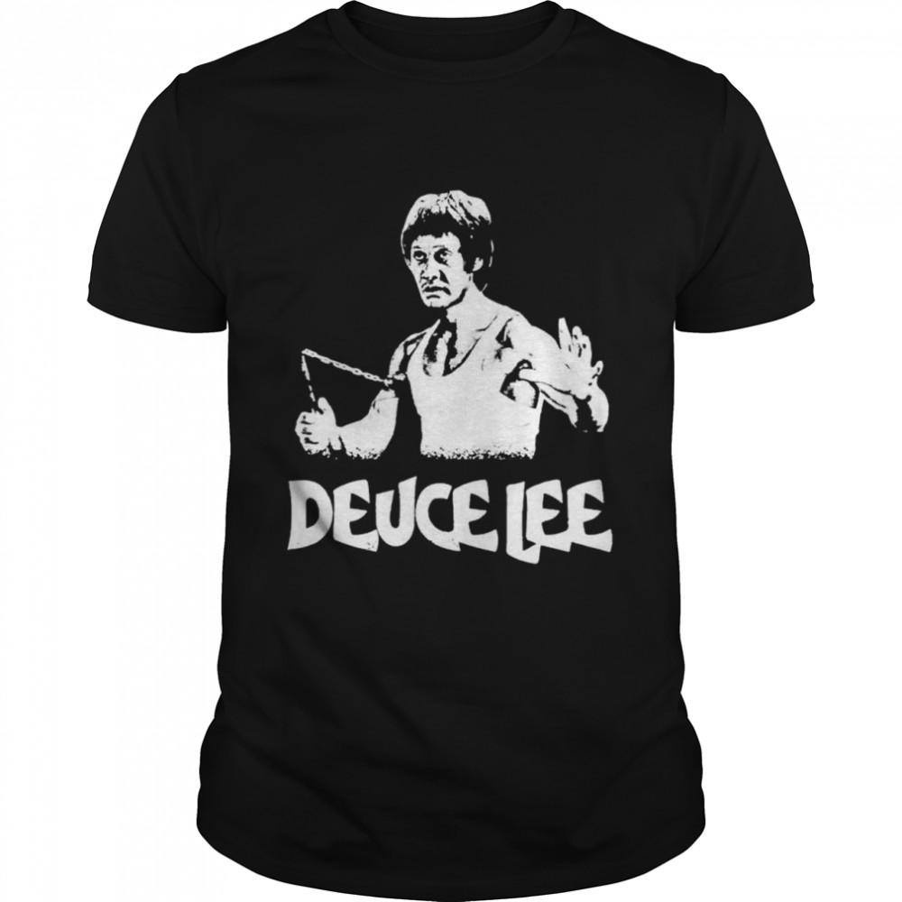 A Bruce Lee and Deuce Bigalow mashup Deucelee shirt Classic Men's T-shirt