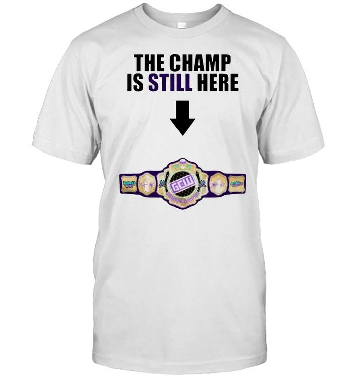 The Champ is still here spinner Matt Cardona shirt Classic Men's T-shirt