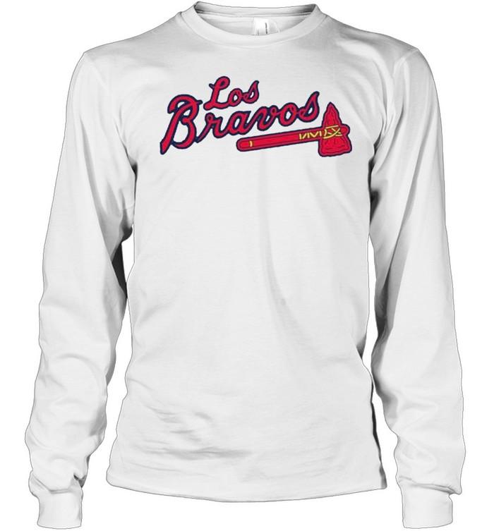 Los Bravos Atlanta Braves shirt Long Sleeved T-shirt