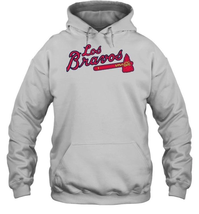 Los Bravos Atlanta Braves shirt Unisex Hoodie