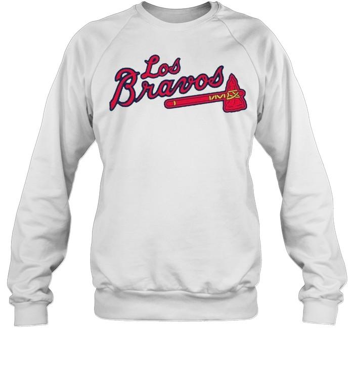 Los Bravos Atlanta Braves shirt Unisex Sweatshirt