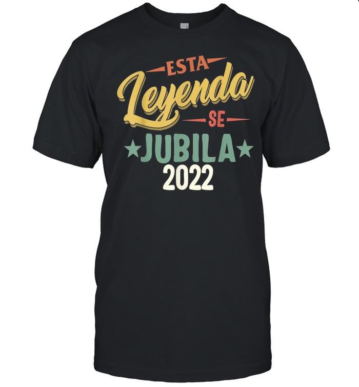 Esta Leyenda Jubila 2022 retirado jubilada fiesta jubilación shirt Classic Men's T-shirt