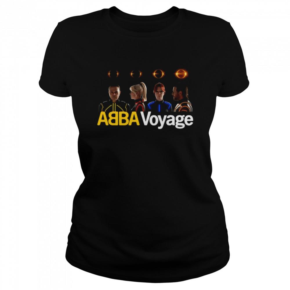 Abba Voyage Music T-shirt Classic Women's T-shirt