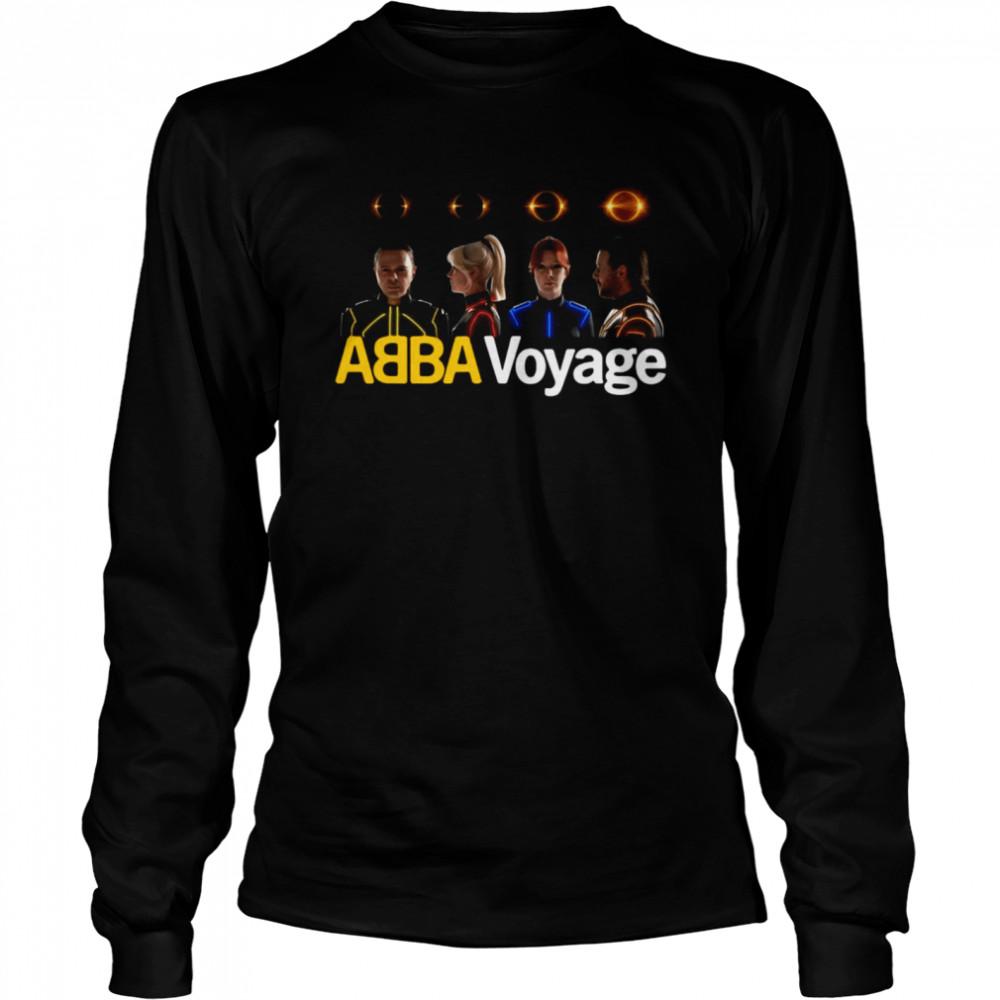 Abba Voyage Music T-shirt Long Sleeved T-shirt