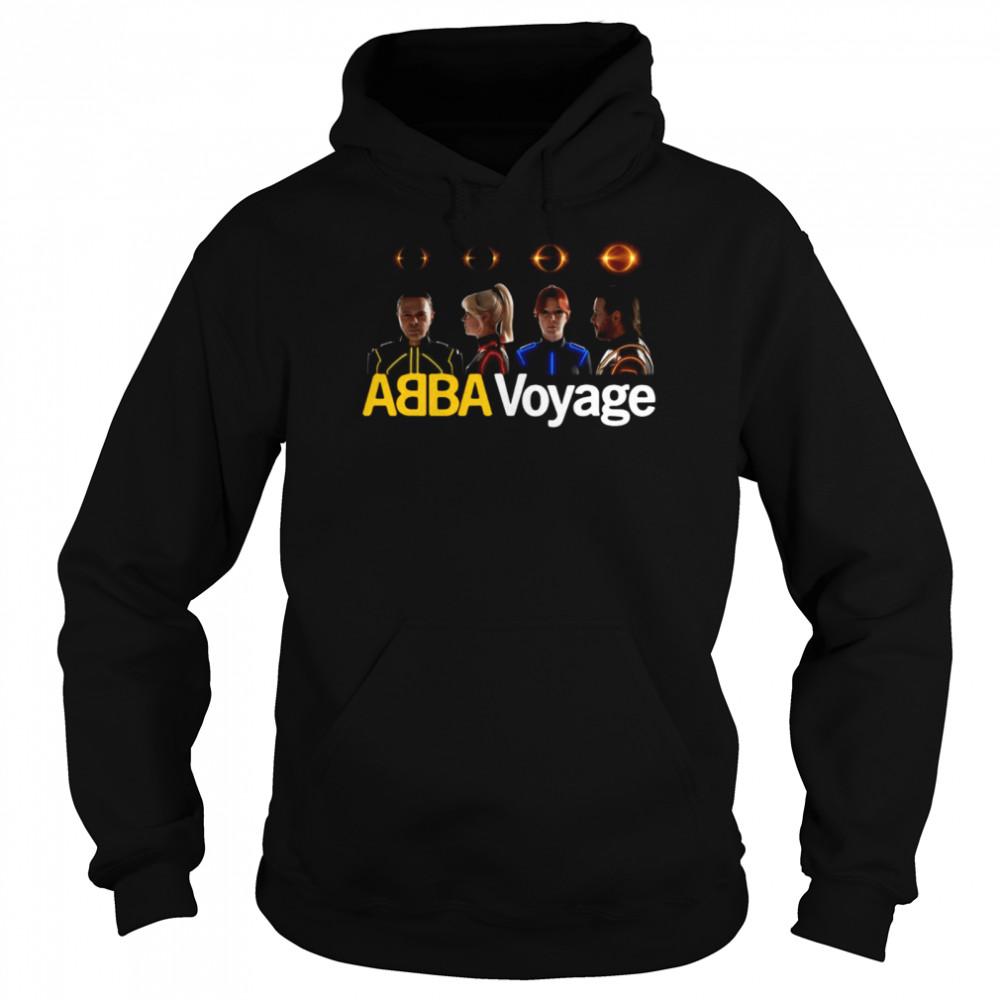Abba Voyage Music T-shirt Unisex Hoodie