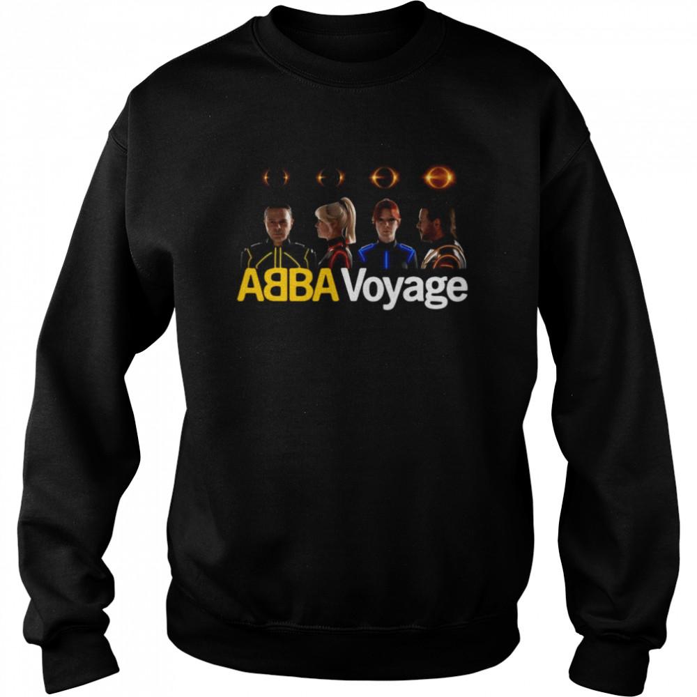 Abba Voyage Music T-shirt Unisex Sweatshirt