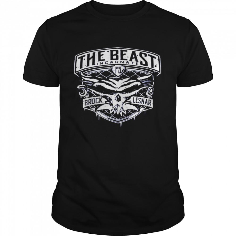 Brock Lesnar The Beast Incarnate shirt Classic Men's T-shirt